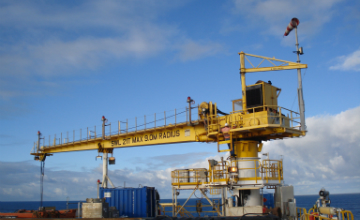 Condition monitoring for the safe operation and life extension of offshore cranes