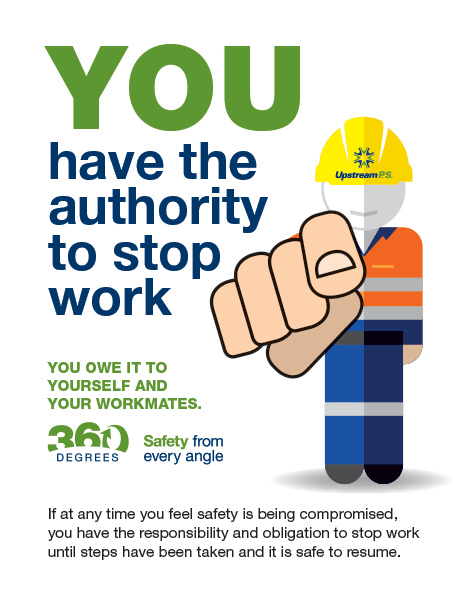Safety - Stop Work Authority