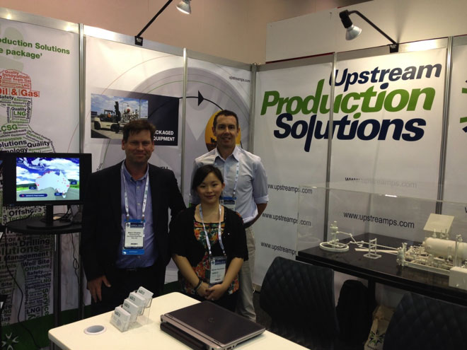 Upstream Production Solutions exhibiting in APPEA 2014